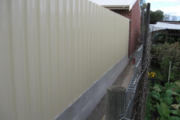 Concreting and backyard fence in <Suburb> Adelaide