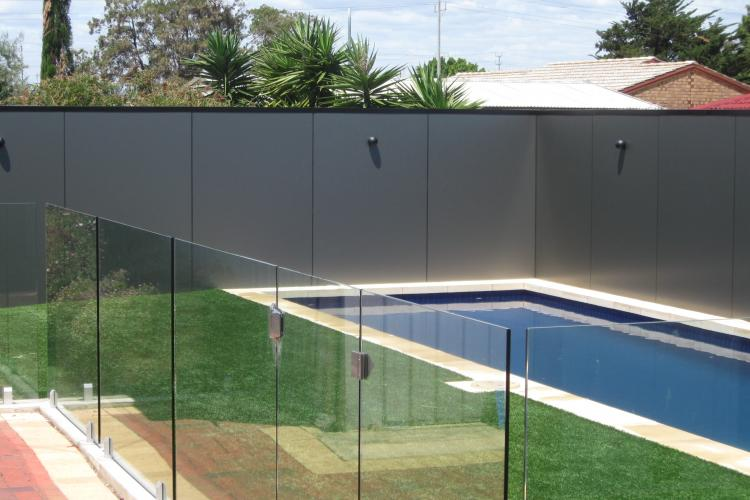 Alucobond Pool Surroud fence