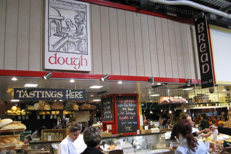 Making Dough Shop Re-fit at the Adelaide Central Markets