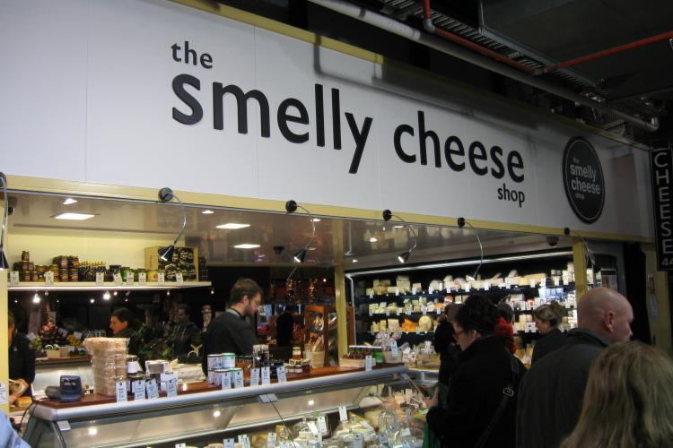 Smelly Cheese Shop Re-fit at the Adelaide Central Markets