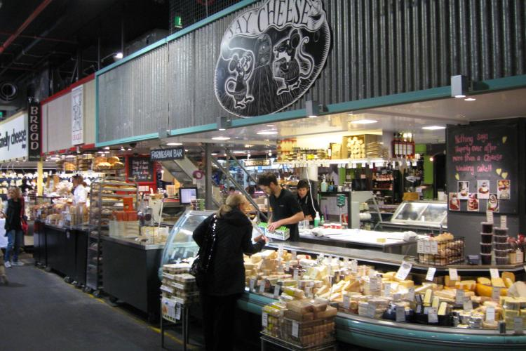 Say Cheese Shop Re-fit at the Adelaide Central Markets