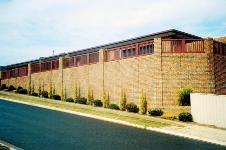 Robert built large retaining wall in Hallet Cove, South Australia.